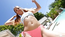 Summertime sex madness with a teen